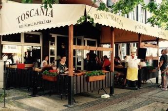 Ustka Restauracja Pizzeria polska włoska Toscania